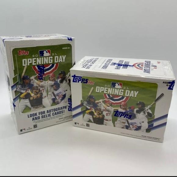 2021 Topps Baseball MLB Opening Day Blaster Boxes
